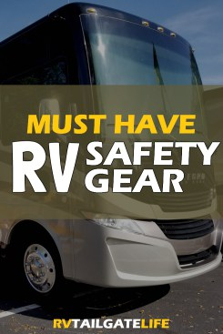 Top picks of the essential RV safety gear to keep your tailgate and road trips rolling