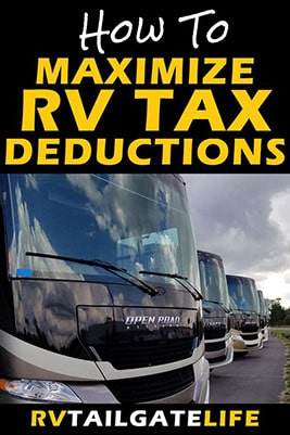 How to Maximize RV Tax Deductions