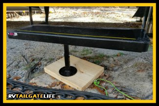 Make Your Own RV Jack Pads - RV Tailgate Life