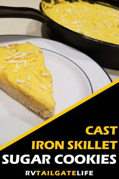 Cast Iron Skillet Sugar Cookies