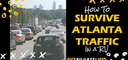 RV driving in Atlanta can be difficult. Find out how to survive the RV road trip through Atlanta