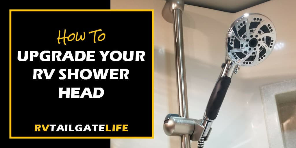 Add the power of air to your RV shower with an Oxygenics RV shower head