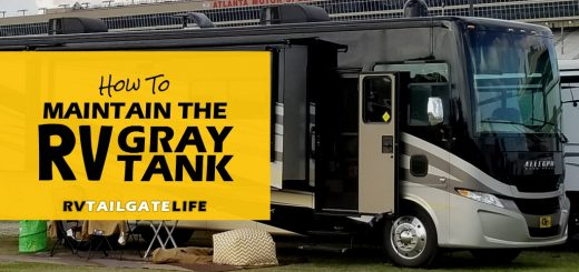 Tips and tricks for maintaining your RV gray tanks.