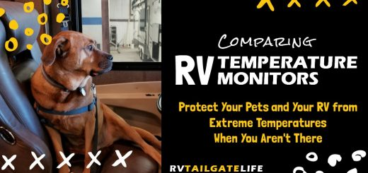RV Pet Temperature Monitors protect your unattended pets from the dangers of high heat and even cold temperatures too. Also useful to protect the RV during winter from freezing pipes. Protect your RV pets!