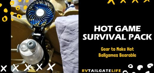 Build your own Hot Game Survival Pack - all the gear you need to make hot ballgames bearable. Survive these early football season games and stay cool!