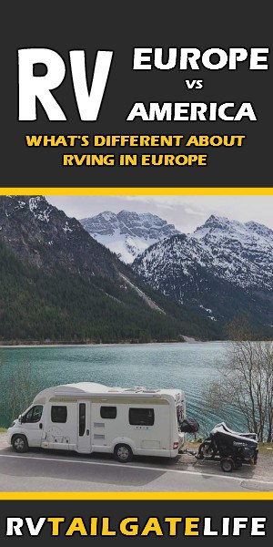 Want to go RVing in Europe? Find out how it is differnt than RVing in America