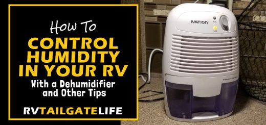 How to control humidity in your RV with a dehumidifier and other tips to maintaining the proper moisture level in an RV