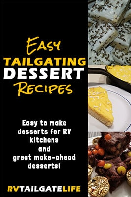 Easy tailgating dessert recipes