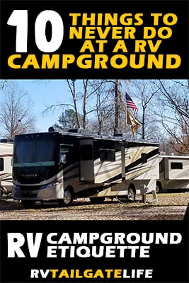10 Things to Never Do at a RV Campground - RV Campground Etiquette Rules
