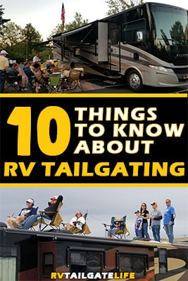 10 Things to Know About RV Tailgating
