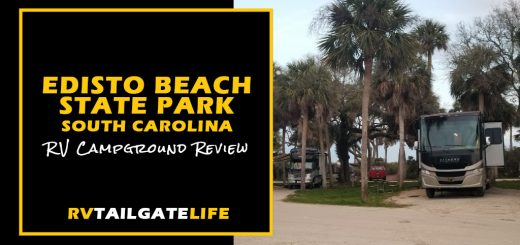 Edisto Beach RV Campground, South Carolina, RV Campground Review by RV Tailgate Life