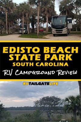 Edisto Beach State Park, South Carolina, RV Campground