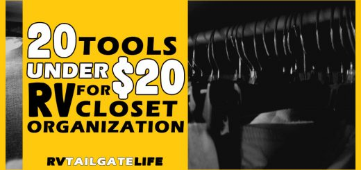 20 RV Closet Organization Tools Under $20