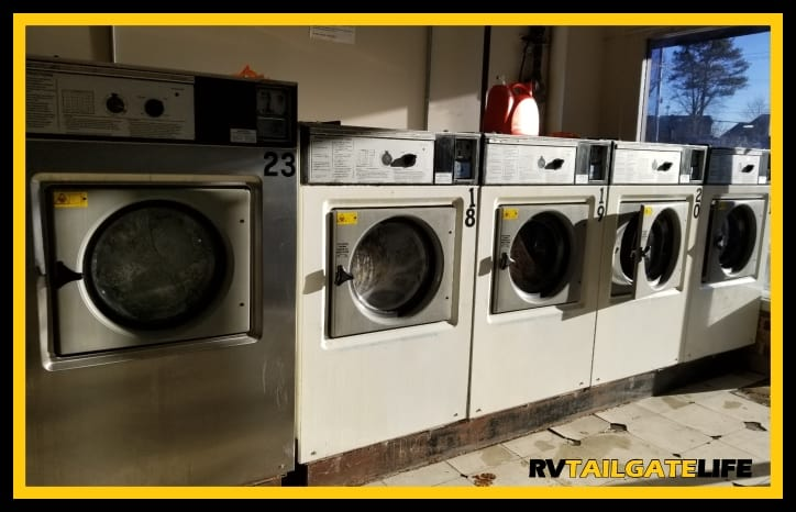 You will want to take a trip to the laundromat to clean your RV comforter