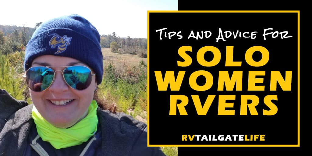 Tips and advice for solo women RVers