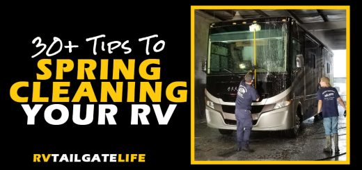 30+ Tips for Spring Cleaning Your RV