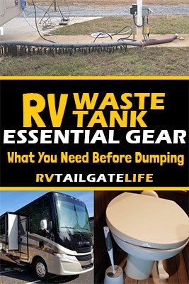 Essential Gear for RV Waste Tanks - What you need before dumping from RV Tailgate Life