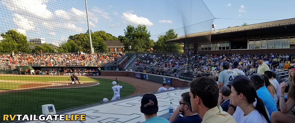 Russ Chandler Stadium on a beautiful Friday evening for the 2019 Atlanta Regional for the NCAA Baseball Tournament