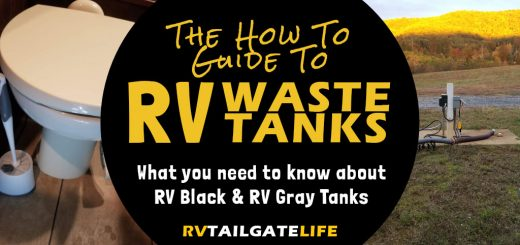 The how to guide to RV Waste Tanks - What you need to know about RV black tanks and RV gray tanks