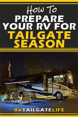 Prepare your RV for tailgate season with these tips from RV Tailgate Life