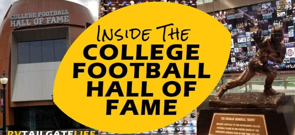 Inside the College Football Hall of Fame Atlanta GA