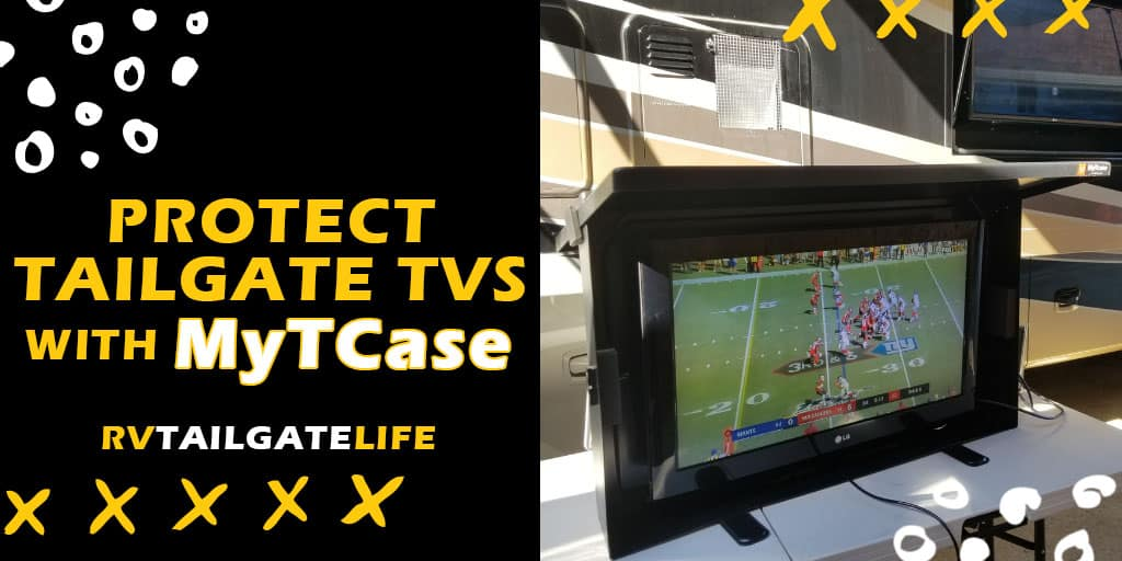 Protect Tailgate TVs with MyTCase - Product Review