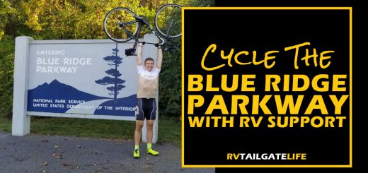 Bicycling the Blue Ridge Parkway with RV Support