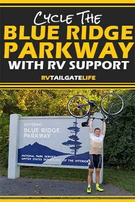 Cycle the Blue Ridge Parkway with RV Support