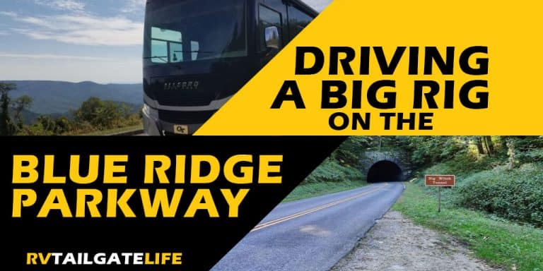 Driving a Big Rig on the Blue Ridge Parkway