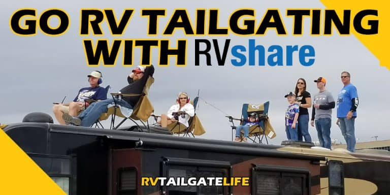 Go RV Tailgating with RVShare - Rent an RV for Tailgating