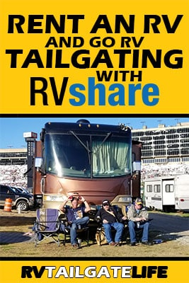 Rent an RV and Go RV Tailgating with RVShare