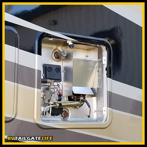 Tip for RV newbies - make sure that the water heater is full of water before turning on the heater or you will burn it up